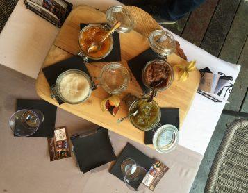 Confiture de figue, from restaurant La Bergerie de Plan Praz in Chamonix