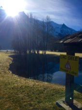 Unfrozen Frozen Lake