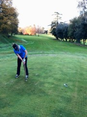 The Sub Par Golfer Puttting at Galenda
