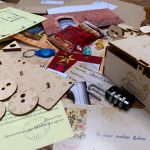 The box contains exciting tasks, cyphers, interactive objects, interesting puzzles and codes to solve