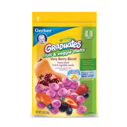 Gerber Graduates Fruit & Veggie MeltsRead My Review
