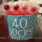 DIY 40th Birthday Gift Idea