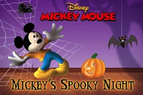 Mickey Mouse Halloween Book