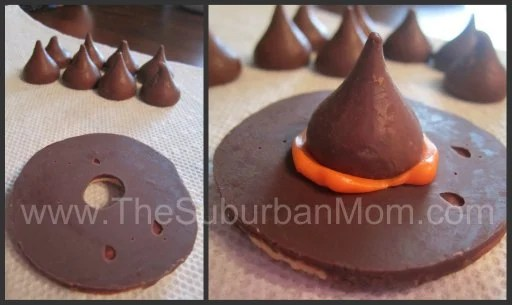 Witch Hat Cookies Halloween