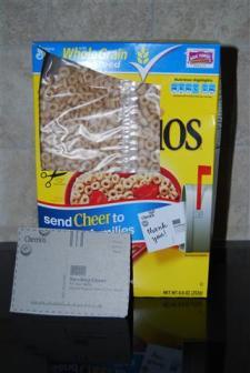 Cheerios Postcard Cheer