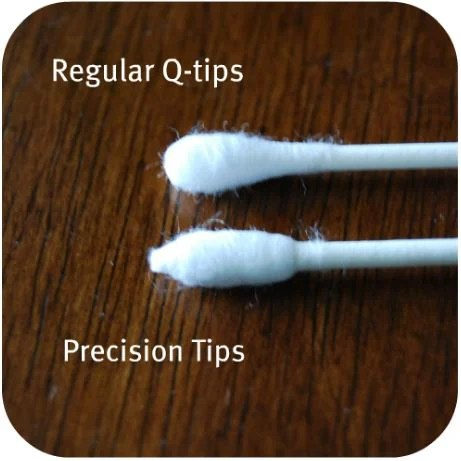 Q-tips vs Precision Tips