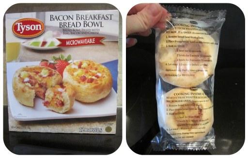 Tyson Breakfast Bread Bowl