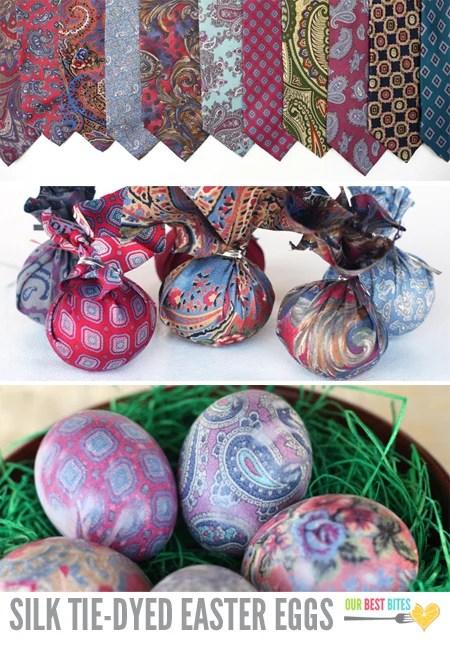 Silk Ties Easter Eggs
