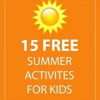 15 Free Summer Activities For Kids