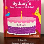 Personalized First Second Birthday Book