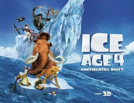 Ice Age 4: Continental Drift Poster