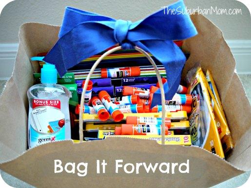 Bag it Forward Back to School Elmers