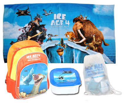 Ice Age 4 Continental Drift Prize Pack