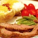 Grilled Steak Dinner Receipe