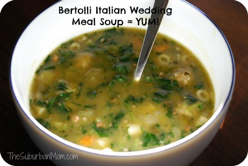 Bertolli Italian-Style Wedding Meal Soup