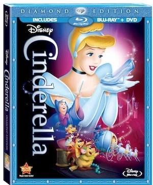 Cinderella Diamond Edition Blu-ray Combo Disney