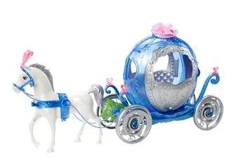 Disney Princess Cinderella Transforming Pumpkin Carriage Set