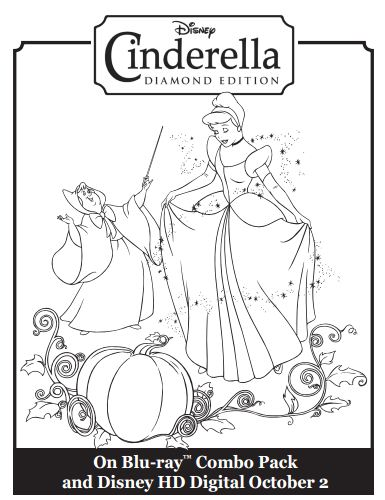 Disney Cinderella Coloring Pages