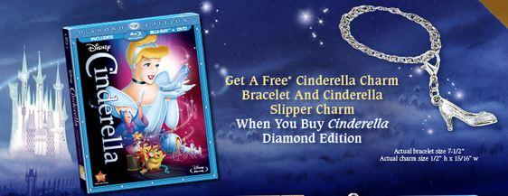 Cinderella Free Charm Bracelet