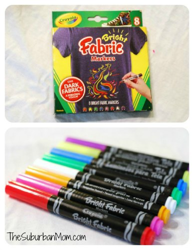 Crayola Fabric Markers DIY Art Smock