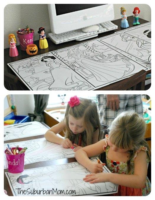 Disney Princes Coloring Pages