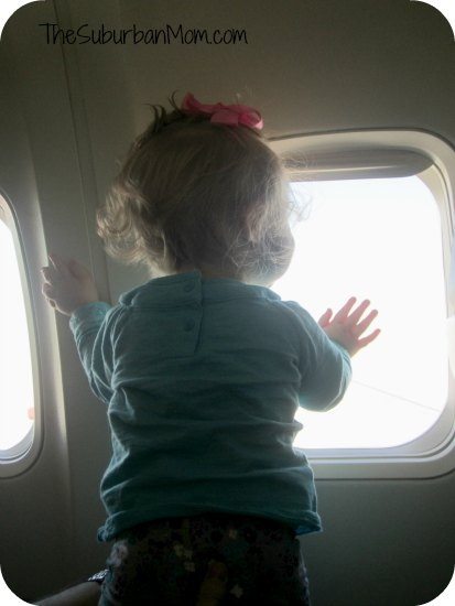 Baby's first plane ride