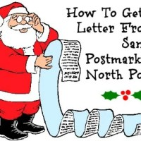 How To Get A Letter From Santa Postmarked North Pole (It's Free!)