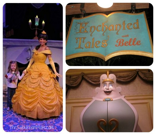 New FantasyLand Belle's Enchanted Tale Magic Kingdom Walt Disney World