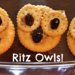 Owl Ritz Crackers Snack