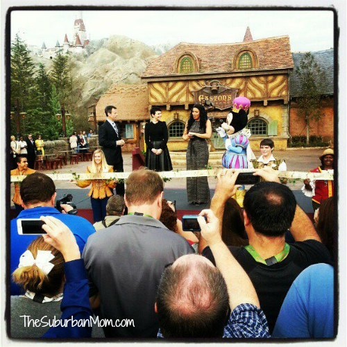 Disney #NewFantasyLand Ribbon Cutting Ginnfer Goodwin Jordan Sparks