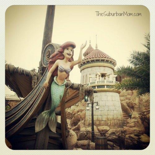 New FantasyLand Ariel Disney