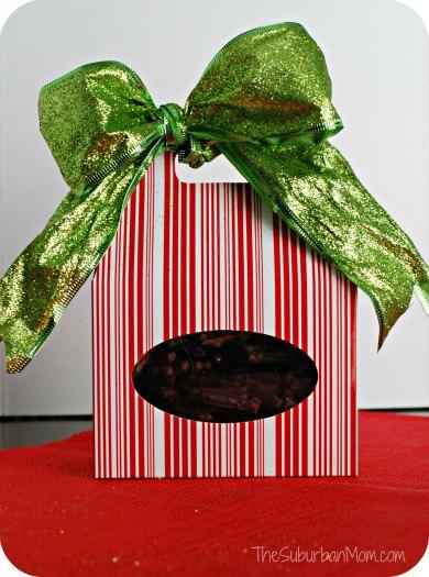 No Bake Christmas Cookie Chocolate Gift