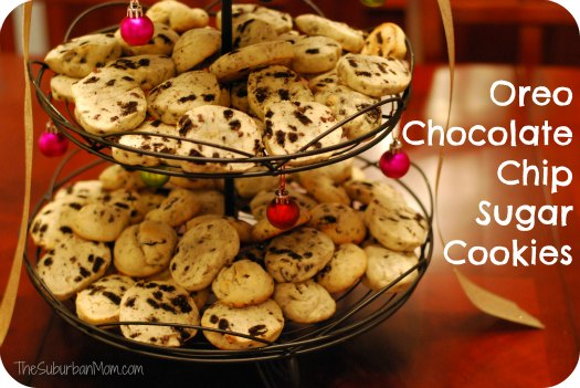 Oreo Chocolate Chip Sugar Cookies Recipe