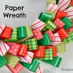 Paper Wreath Craft Kit