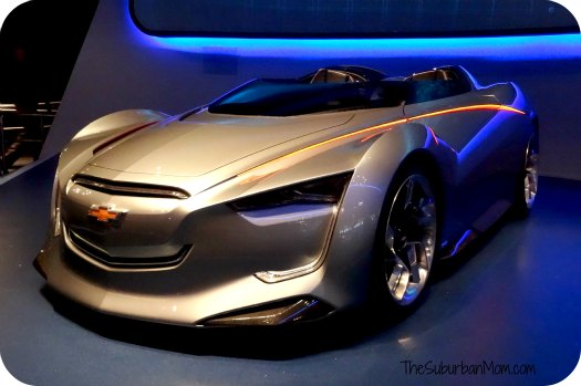 Test Track Chevy Car