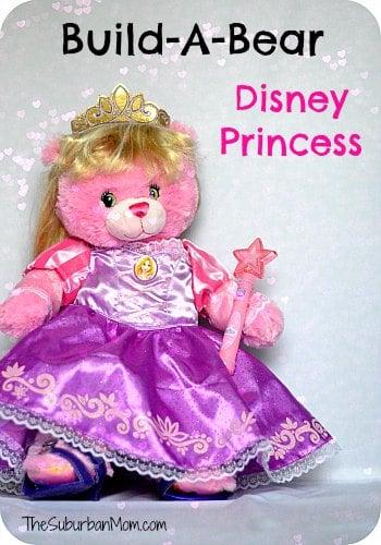 Build-A-Bear Disney Princess Pink Rapunzel