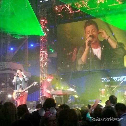 One Republic Concert Disney Epcot #TestTrack #Chevy