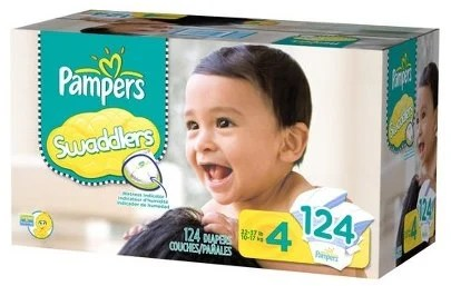 Pampers Swaddlers Size 4