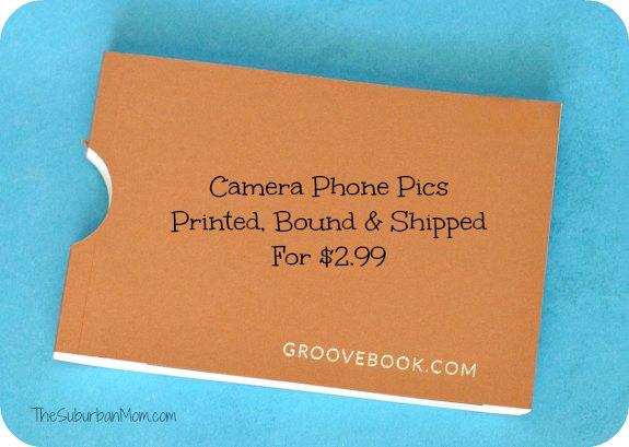 Groovebook Camera Phone Pics $2.99