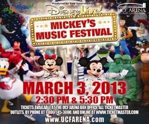 Disney Live Mickey Music Festival