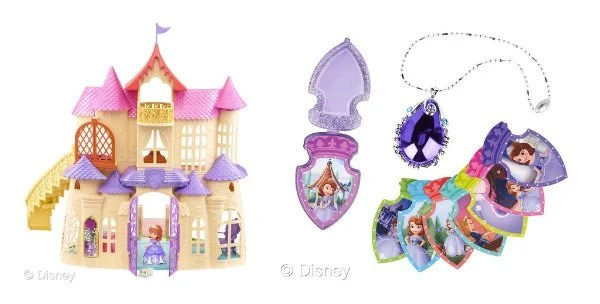 Sofia The First Disney Toys Amulet Castle