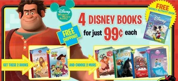 Disney Books Deal