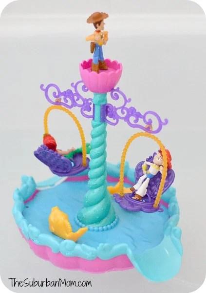 Ariel's Floating Fountain Bath Toy Disney
