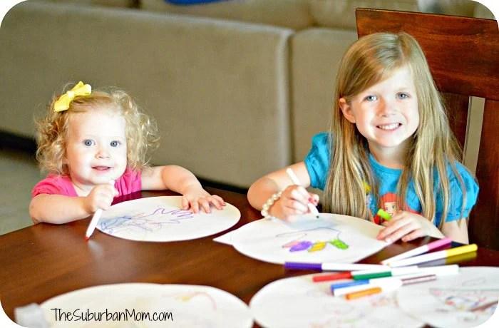 Kids Craft Homemade plates