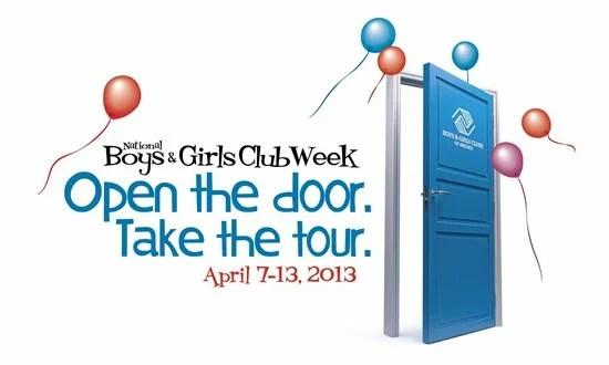 National Boys & Girls Club Week Open The Door