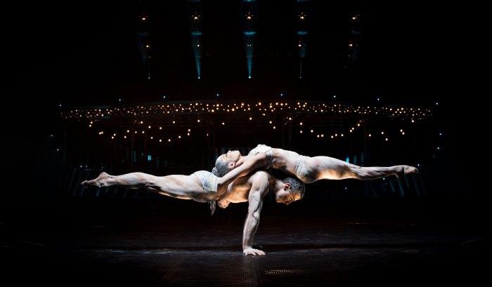 Cirque du Soleil Quidam Statue