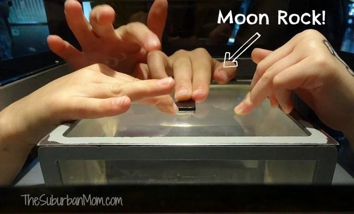 Kennedy Space Center Moon Rock