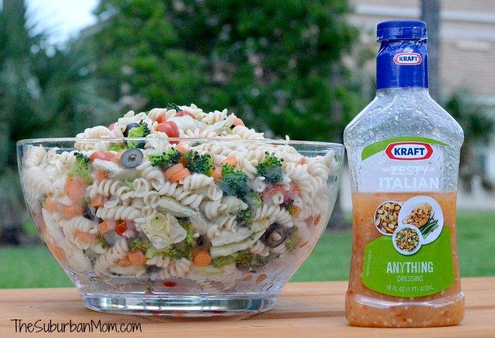 Pasta Salad Zesty Italian
