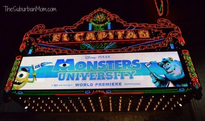 Monsters University El Capitan
