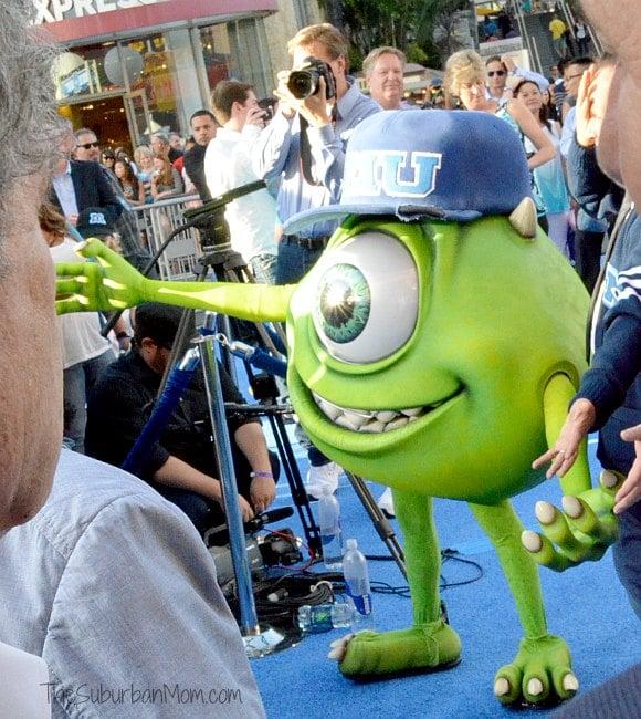 Monsters University Premiere Mike Wazowski